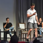 The Full Moon Is Coming Back Again - Max Carver, Charlie Carver, Ian Bohen & Shelley Hennig - Photo : Rostercon.com / Youbecom.fr