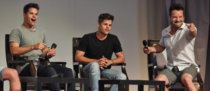 The Full Moon Is Coming Back Again - Max Carver, Charlie Carver & Ian Bohen - Photo : Rostercon.com / Youbecom.fr