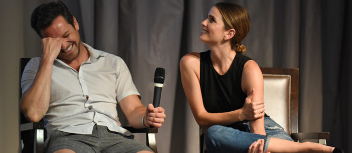 The Full Moon Is Coming Back Again - Ian Bohen & Shelley Hennig - Photo : Rostercon.com / Youbecom.fr