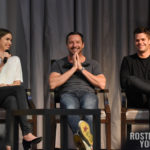 The Full Moon Is Coming Back Again - Shelley Hennig, Ian Bohen & Max Carver - Photo : Rostercon.com / Youbecom.fr