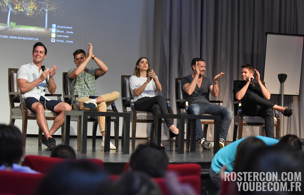 The Full Moon Is Coming Back Again - Panel Teen Wolf Convention - Photo : Rostercon.com