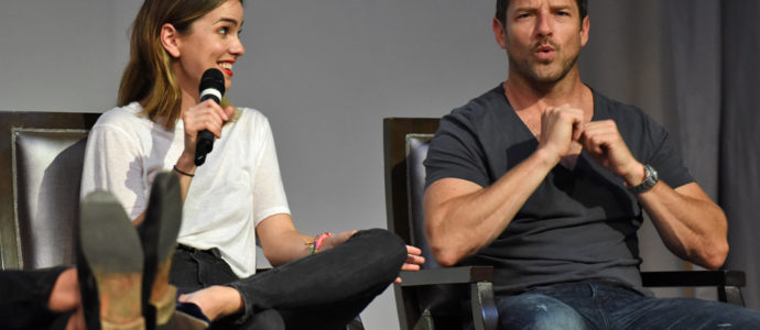 The Full Moon Is Coming Back Again - Ian Bohen et Shelley Hennig - Photo : rostercon/youbecom