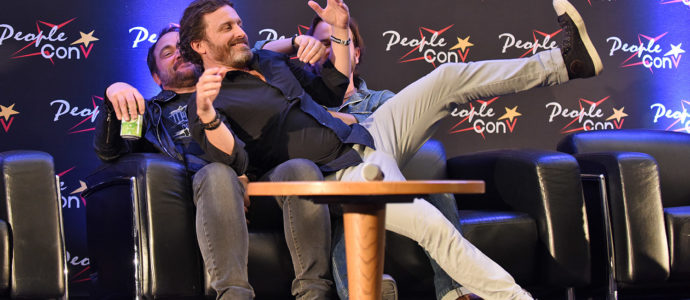 Group panel - The dark light con - Supernatural convention
