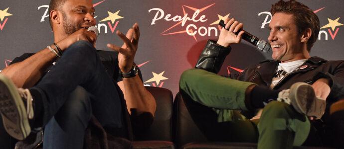 Panel Michael Rowe & David Ramsey - Super Heroes Con 3