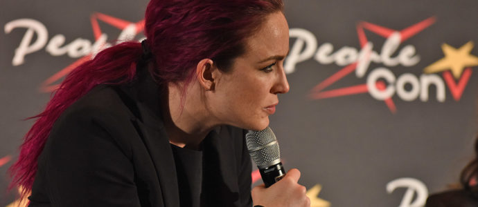 Panel Caity Lotz - Super Heroes Con 3 - People Convention