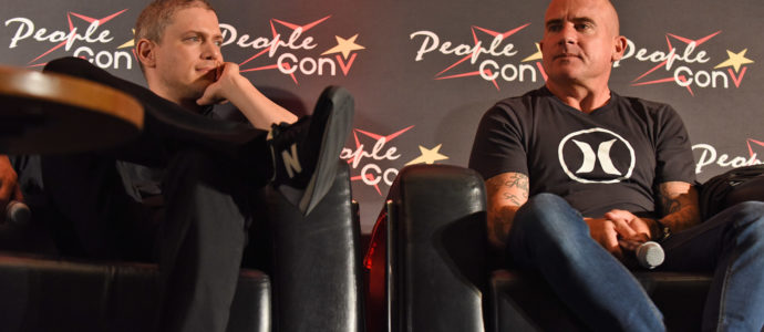 Panel Dominic Purcell & Wentworth Miller – Legends of Tomorrow, Flash, Prison Break