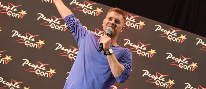 Rick Cosnett - Super Heroes Con 3 - The Flash