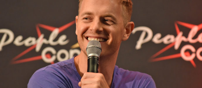 Panel Rick Cosnett - Super Heroes Con 3 - The Flash
