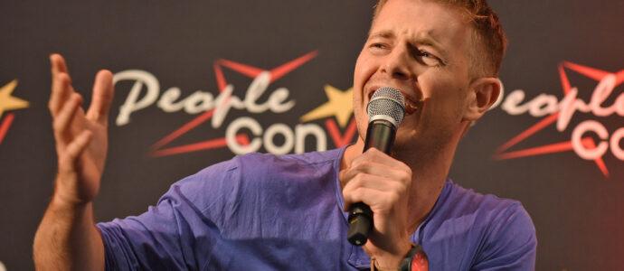 Panel Rick Cosnett - Super Heroes Con 3 - The Flash