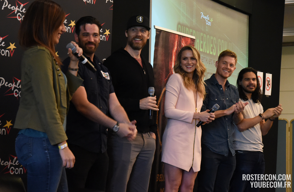 Colin Donnell, Teddy Sears, Shantel VanSanten, Rick Cosnett et Carlos Valdes - Super Heroes Con 2 - People Convention