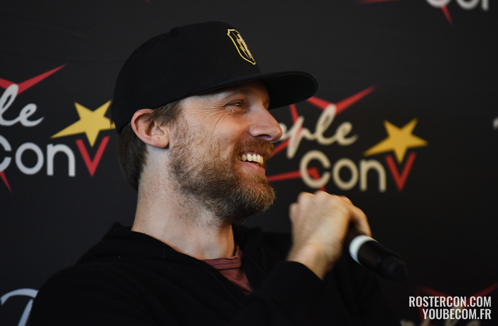 Q&A Teddy Sears - Super Heroes Con 2 - People Convention
