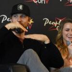 Teddy Sears & Shantel VanSanten - Super Heroes Con 2 - People Convention