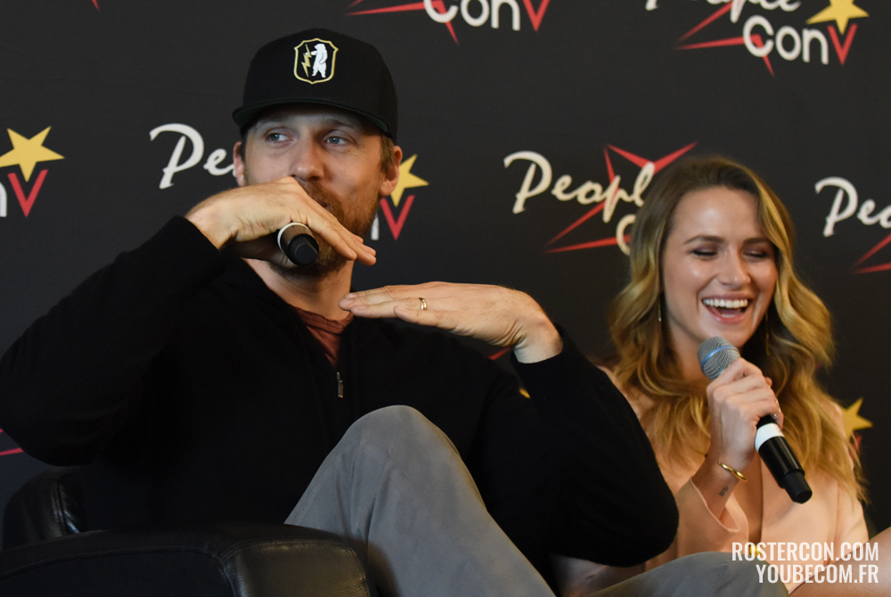 Teddy Sears et Shantel VanSanten - Super Heroes Con 2 - People Convention