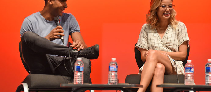 Panel Jamie Chung & Elliot Knight - Fairy Tales 5