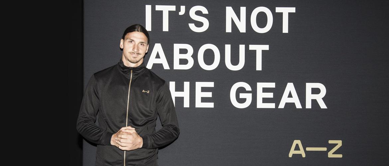 Zlatan Ibrahimovic lance sa marque de vêtements sportwear
