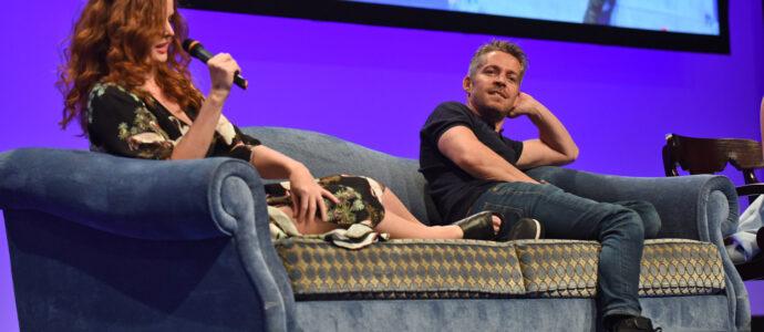 Panel Sean Maguire, Rebecca Mader, Emilie de Ravin, Kristin Bauer - The Happy Ending Convention