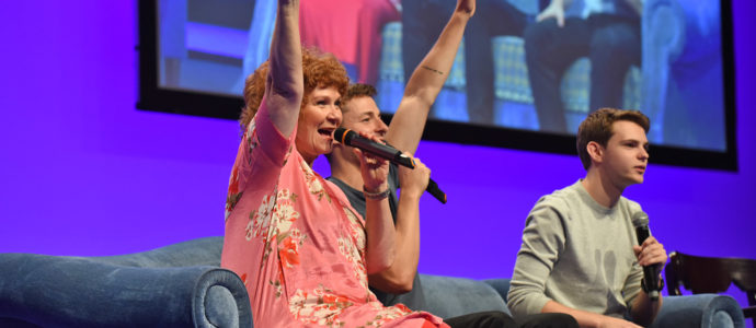 Panel Beverley Elliott, Giles Matthey & Robbie Kay - The Happy Ending Convention