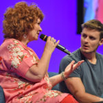 Panel Beverley Elliott, Giles Matthey & Robbie Kay - The Happy Ending Convention