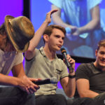 Panel Robbie Kay, Giles Matthey & Michael Raymond-James - The Happy Ending Convention