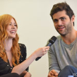 Panel Matthew Daddario & Katherine McNamara - Shadowhunters - The Hunters of Shadow
