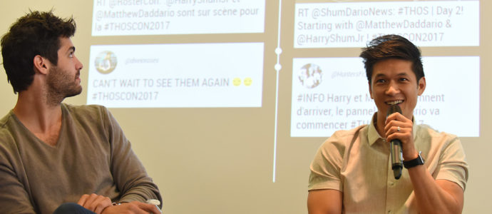 Q&A Harry Shum Jr / Matthew Daddario - The Hunters of Shadow - Shadowhunters
