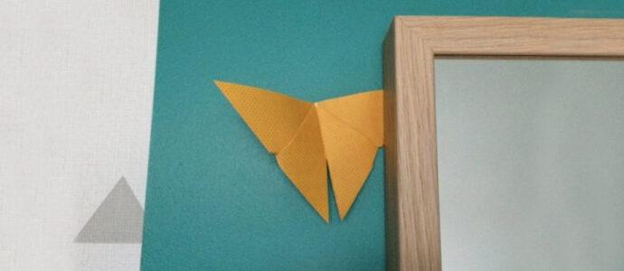 Origami : Le Papillon