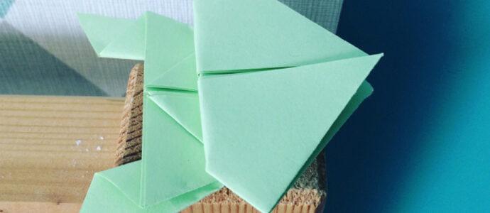 Origami : La Grenouille