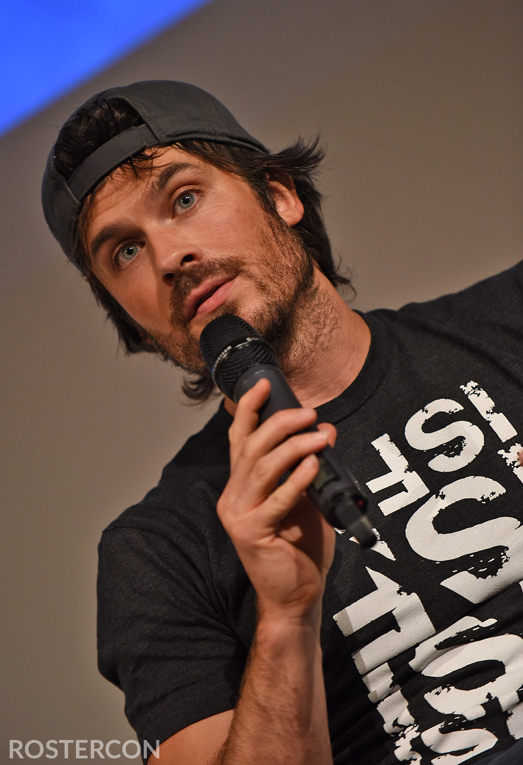 Ian somerhalder roster con panel ian somerhalder michael malarkey vampire diaries welcome to mystic falls 3 m4hsunfo