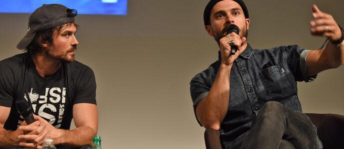 Panel Ian Somerhalder & Michael Malarkey - Vampire Diaries - Welcome to Mystic Falls 3
