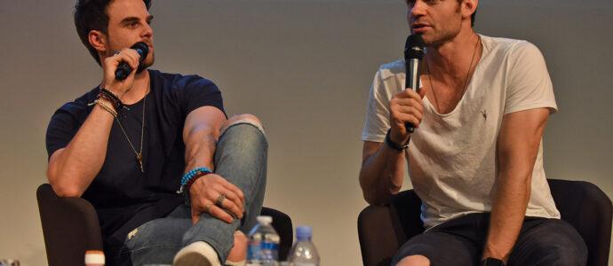 Panel Daniel Gillies & Nathaniel Buzolic - Welcome to Mystic Falls 3 - Vampire Diaries & The Originals