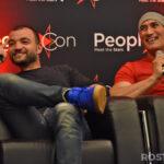 Panel Nick Tarabay & Shane Rangi – Rebels Spartacus 4 – Spartacus