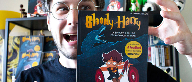 """A la rencontre d'Alexandre Arlène, auteur de """"Bloody Harry"""""""