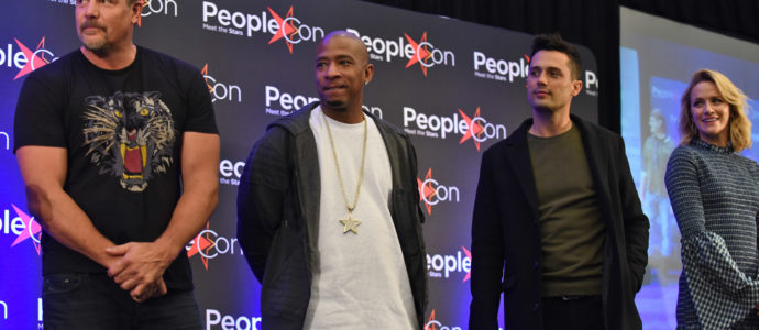 Paul Johansson, Antwon Tanner, Stephen Colletti & Shantel VanSanten - Back To The Rivercourt - One Tree Hill