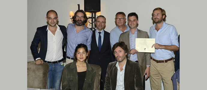 Niels Labuzan, grand gagnant du Prix littéraire de la Bastide de Gordes