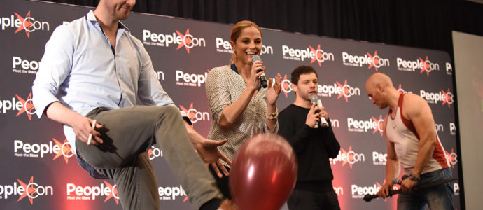 Dan Feuerriegel, Ellen Hollman & Shane Rangi - Convention Rebels Spartacus IV