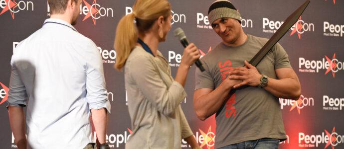 Dan Feuerriegel, Ellen Hollman & Shane Rangi - Convention Rebels Spartacus IV