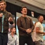 Liam McIntyre, Simon Merrells & Craig Parker - Spartacus - Rebels Spartacus 4