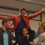 Ellen Hollman, Liam McIntyre & Christian Antidormi - Spartacus - Rebels Spartacus 4