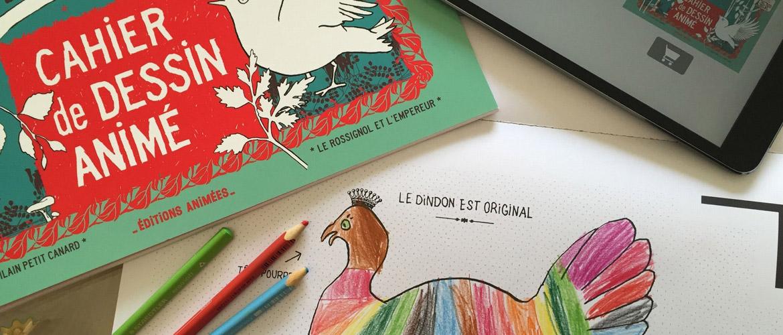 Du coloriage au dessin animé