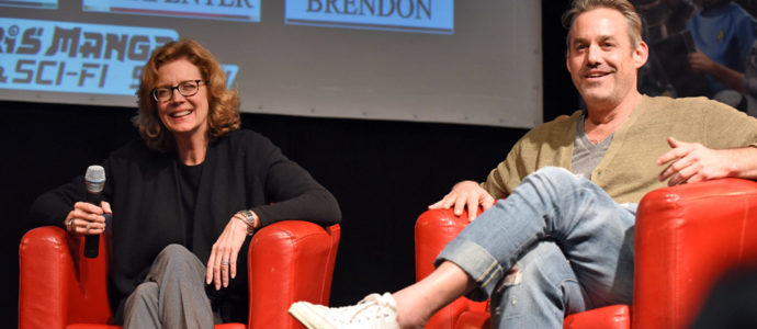 Panel Buffy - Kristine Sutherland & Nicholas Brendon