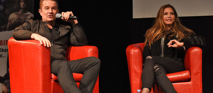 Panel Buffy - Charisma Carpenter & James Marsters