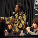 Comic Con Paris - Caleb McLaughlin, Finn Wolfhard & Gaten Matarazzo - Stranger Things