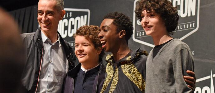 Comic Con Paris - Caleb McLaughlin, Finn Wolfhard & Gaten Matarazzo - Stranger Things