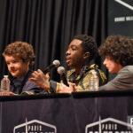 Comic Con Paris – Caleb McLaughlin, Finn Wolfhard & Gaten Matarazzo – Stranger Things