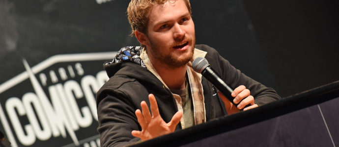 Finn Jones – Comic Con Paris 2017 – Iron Fist, Game of Thrones, The Defenders