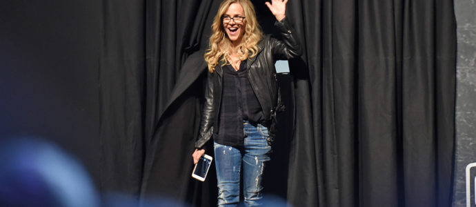 Julie Benz - Comic Con Paris 2017