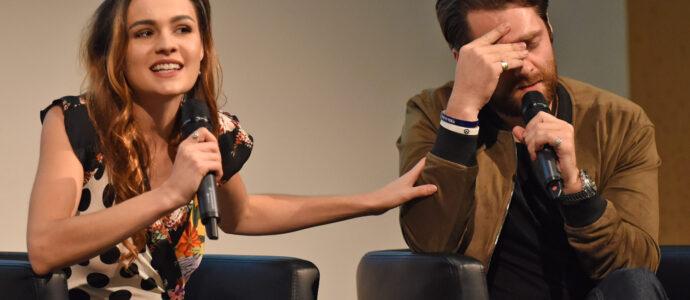 Panel Sophie Skelton & Richard Rankin - Outlander - The Land Con