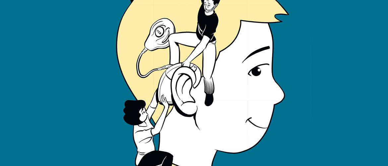 « Tombé dans l'oreille d'un sourd », une BD pour raconter la surdité