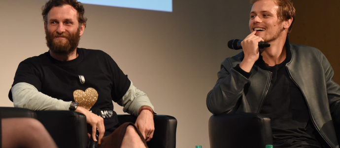 Panel Sam Heughan & Steven Cree - The Land Con - Outlander