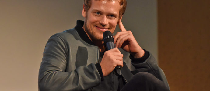 Panel Sam Heughan & Steven Cree - The Land Con - Outlander